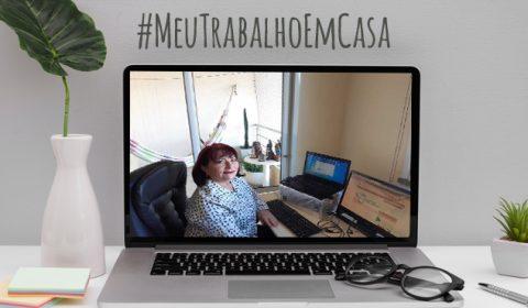 Servidora que já atuava em TeleTrabalho ganhou novos desafios na pandemia