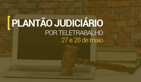 Judiciário na Capital funcionará em regime de plantão eletrônico nestas quarta e quinta