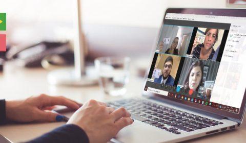 Por meio de videoconferência, partes conseguem participar de audiência mesmo estando na Itália