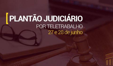 Judiciário na Capital e Interior funciona por meio de plantão no fim de semana
