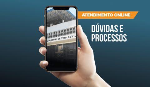Atendimento ao público continua virtual na primeira fase de retomada das atividades presenciais do Judiciário cearense