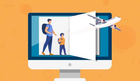 Saiba como solicitar online autorização de viagens para crianças