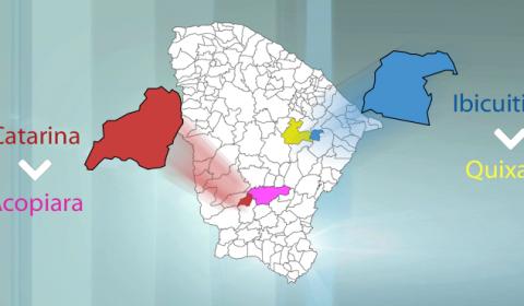 Catarina e Ibicuitinga passam a ter processos novos tramitando em comarcas agregadoras a partir desta terça-feira