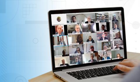 Sessões de julgamento online passam a ser oficialmente adotadas pelo TJCE