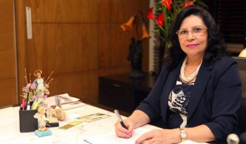 Desembargadora Nailde Pinheiro assume interinamente a Presidência do TJCE