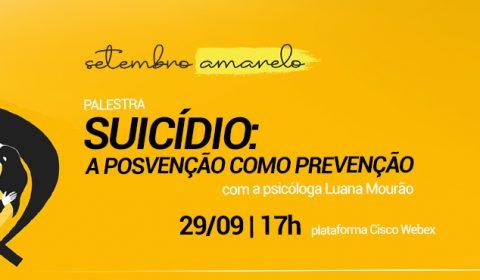 Setembro Amarelo: Judiciário promove palestra sobre prevenção ao suicídio na próxima terça-feira