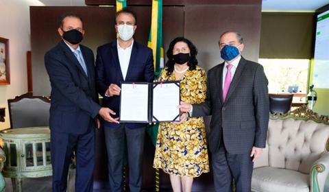 Programa de Modernização do Judiciário é sancionado pelo Governo estadual