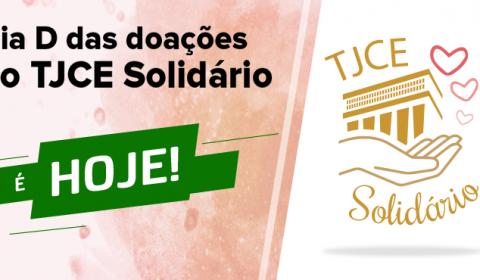 Hoje é o dia D de doação para campanha do Poder Judiciário