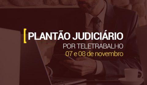 Atendimento do Judiciário é garantido por meio de plantão no fim de semana