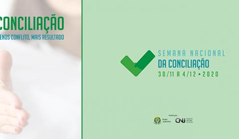 Semana Nacional de Conciliação começa nesta segunda-feira com 7.691 audiências agendadas
