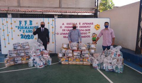 Campanha TJCE Solidário - Entregas das cestas básica
