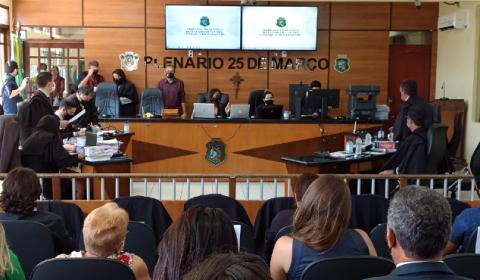 Júri mais longo da história do Judiciário cearense condena Marcelo Barberena a 82 anos de prisão por matar esposa e filha