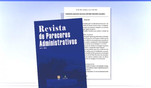 Lançado o 5º volume da Revista de Pareceres Administrativos