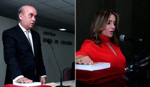 Dirigentes da Escola da Magistratura do Ceará e do Fórum Clóvis Beviláqua são empossados para biênio 2021-2023