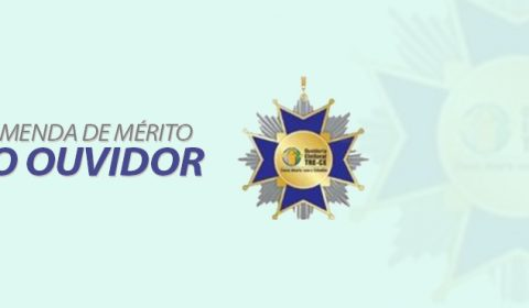 COMUNICADO: TRE-CE cancela Webinar e solenidade de entrega da Comenda de Mérito ao Ouvidor
