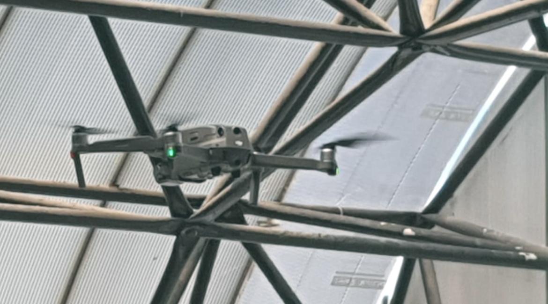 Judiciário cearense utiliza drone para auxiliar na reforma e ampliação de unidades