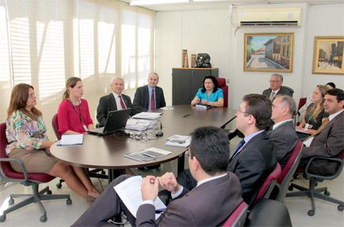 Plano Estratégico: Resultados das Metas institucionais são apresentadas em reunião