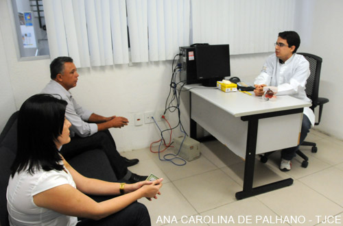 Fórum inicia atividades preventivas de saúde durante II Semana da Justiça pela Paz em Casa