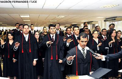 Juízes substitutos tomam posse no Tribunal de Justiça do Ceará